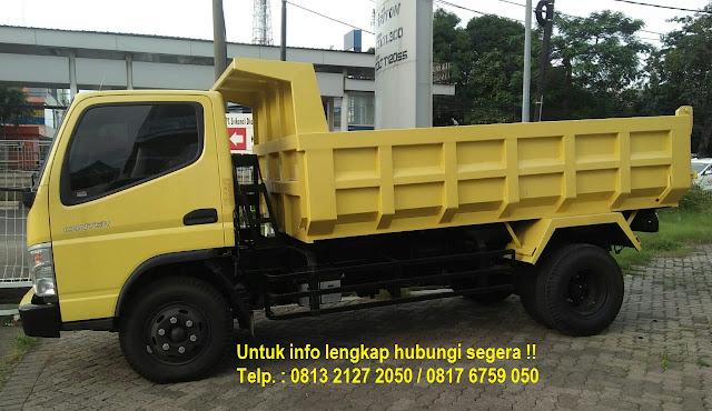 dump truk colt diesel canter 2019, dump truck colt diesel fe 74 hd 125ps 2019