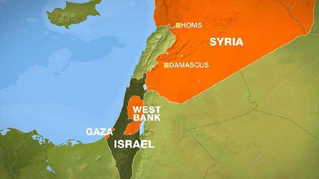 Israel dan Suriah
