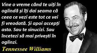 Maxima zilei: 26 martie -  Tennessee Williams