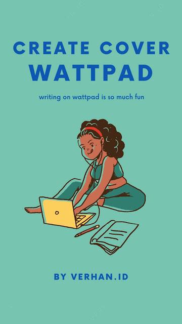 contoh cover buku wattpad