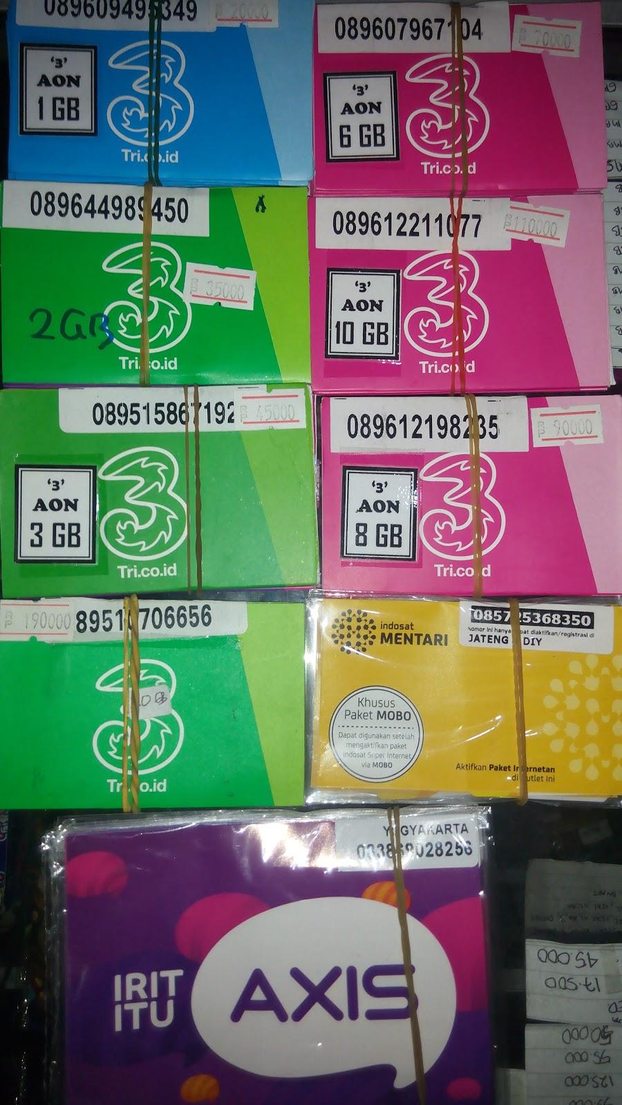 Halfaz Jogja Perdana Internet 3 Aon Sep2015 Paket 2gb 1gb Dan Extra 1 Gb