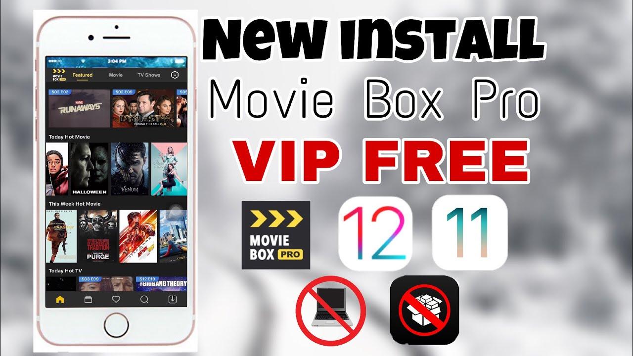تطبيق Movieboxpro لمشاهدة وتحميل الافلام للاندرويد و الايفون