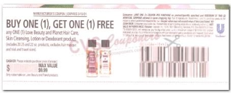 love beauty hair care coupon bogo free