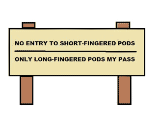 IN THE LAND OF THE PODS STORY