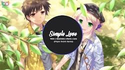 Lyrics SIMPLE LOVE - Obito x Seachains x Davis x Lena
