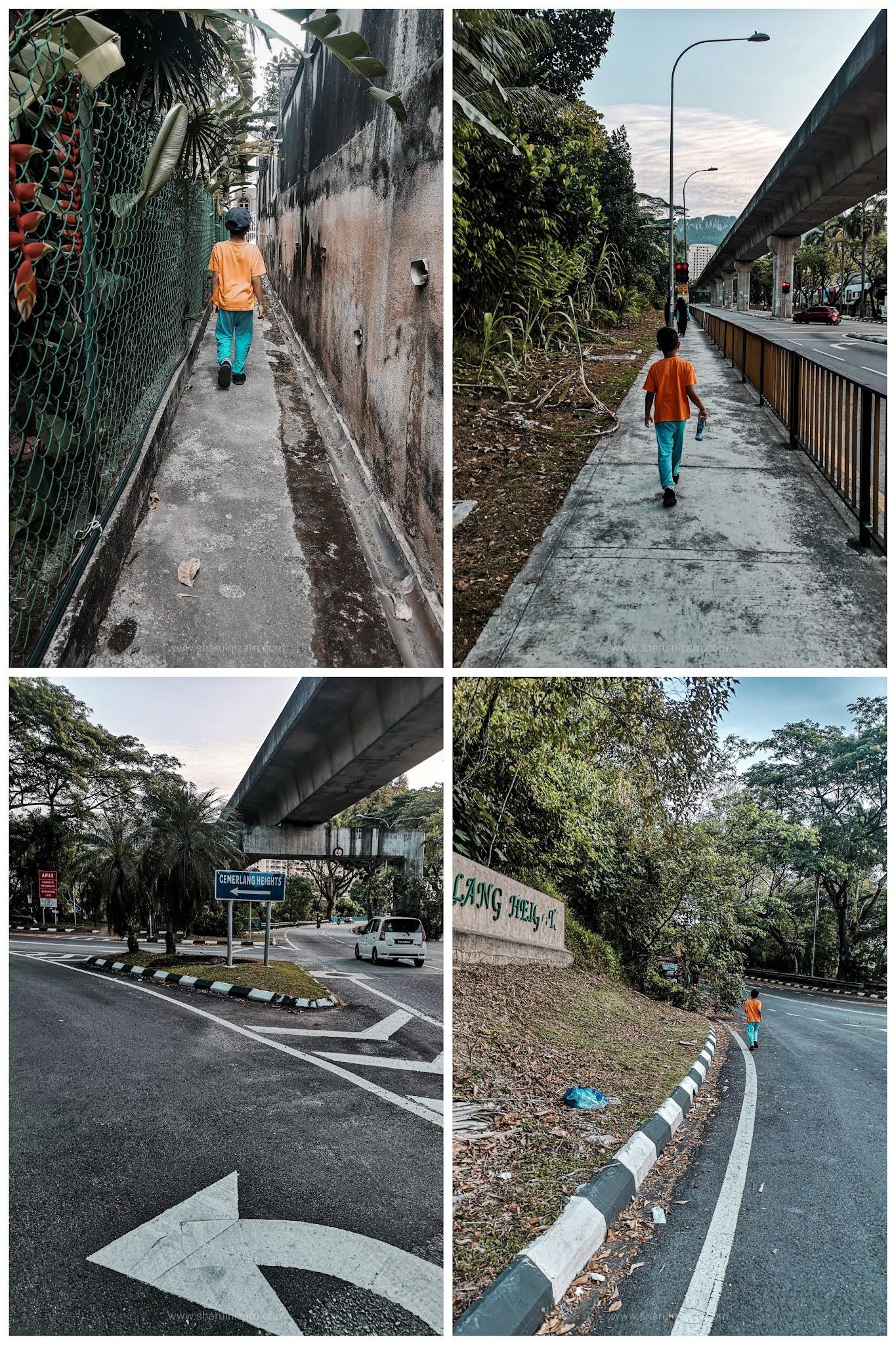 8Hiking Ke Loji Air Cemerlang Heights, Taman Melati