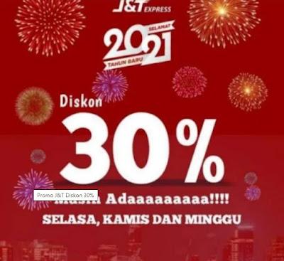 Promo J&T Diskon 30% Cek Waktunya