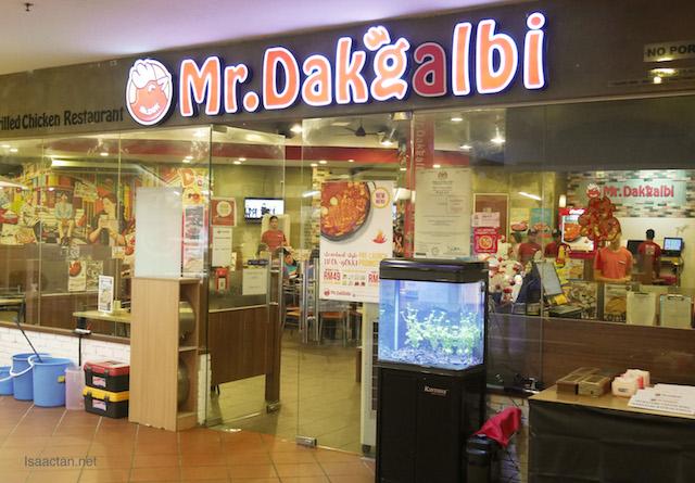 Mr. Dakgalbi @ Citta Mall