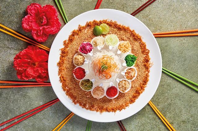 SUNWAY RESORT CAFE CHINESE NEW YEAR 2021 Menu - Traditional Yee Sang