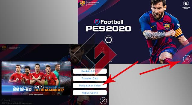 Pengaturan Grafis PES 2020 Mobile