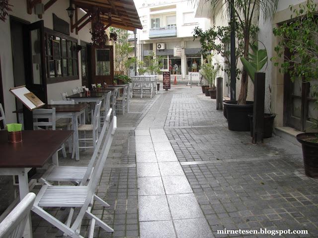Лимассол - кафе в старом городе