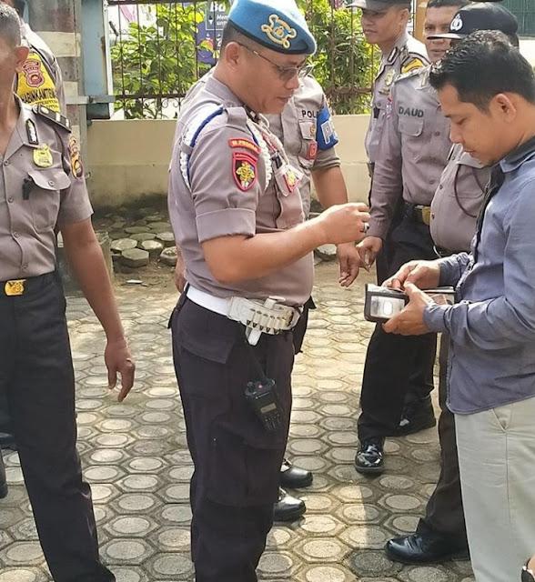 Propam Polresta Jambi Laksanakan Kegiatan Gaktibplin Rutin Pada Polsek Jajaran