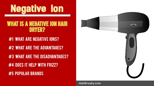 What is negative ion hair dryer