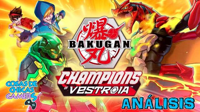 bakugan campeones de vestroia analisis en switch