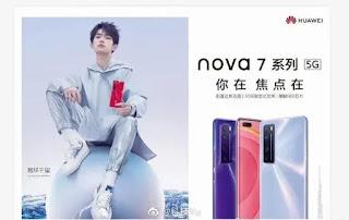 Acara peluncuran Huawei Nova 7 akan diadakan pada 23 April