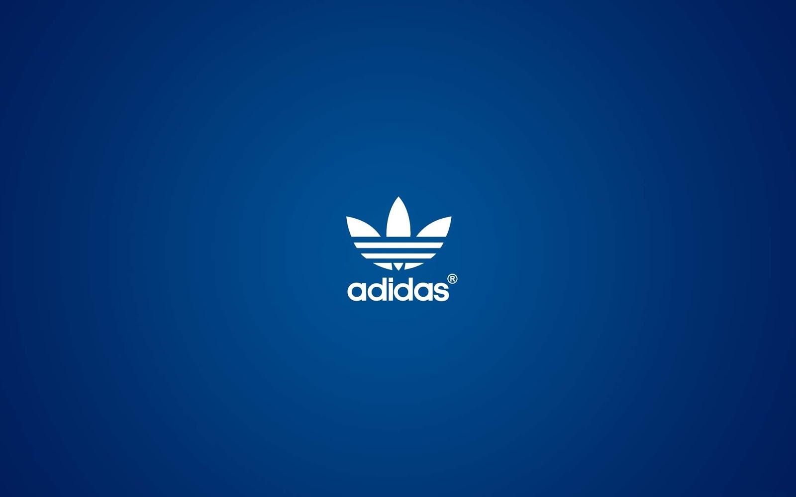 Adidas, Logo, Blue, HD, Sports