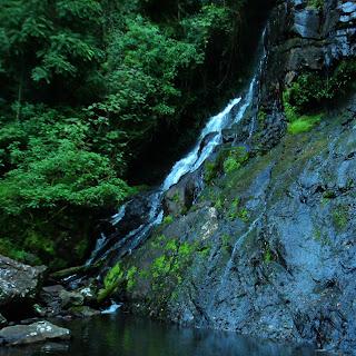 Vista lateral da Cachoeira Escondida, Parque das 8 Cachoeiras, São Francisco de Paula
