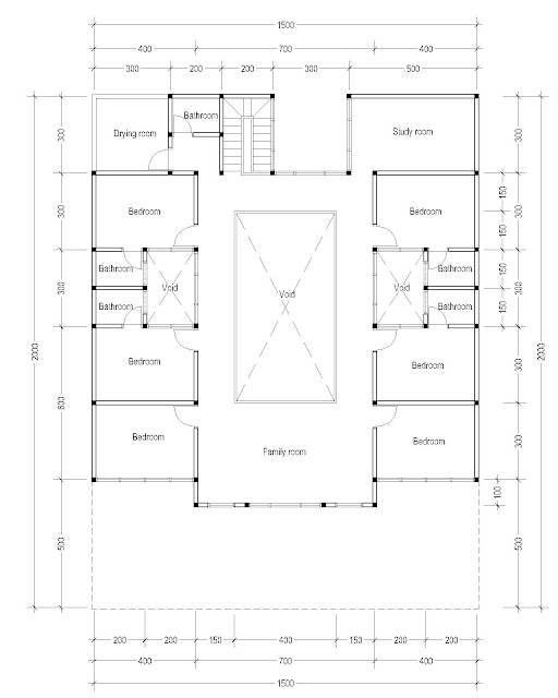 2nd Floor Plan for Plan c-15