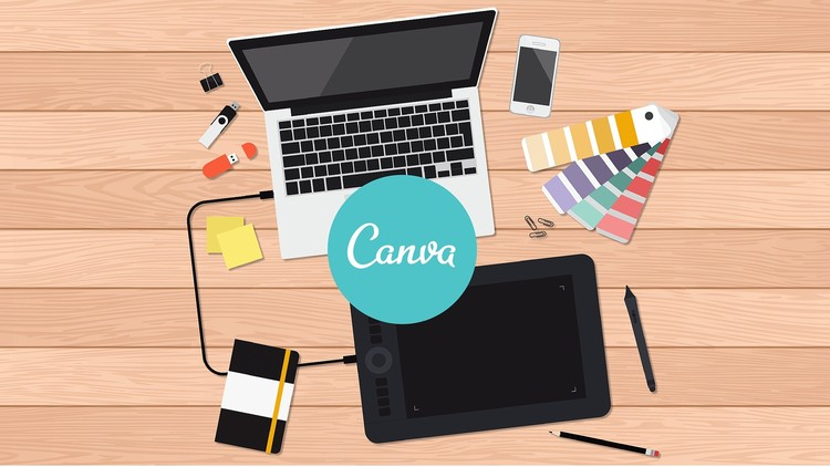 Make Professional Designs with Canva (Arabic)