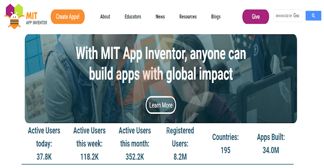 تعلم تطوير تطبيقات اندرويد إحترافيه من خلال آب إنفنتور