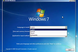 Instal OS Windows Laptop Pakai Komputer PC Destop