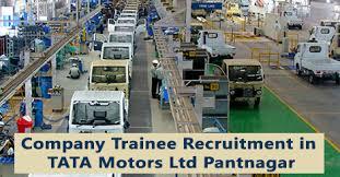 TATA Motors Ltd. ,Pantnagar, Uttarakhand ITI And Neem Trainees Recruitment Drive