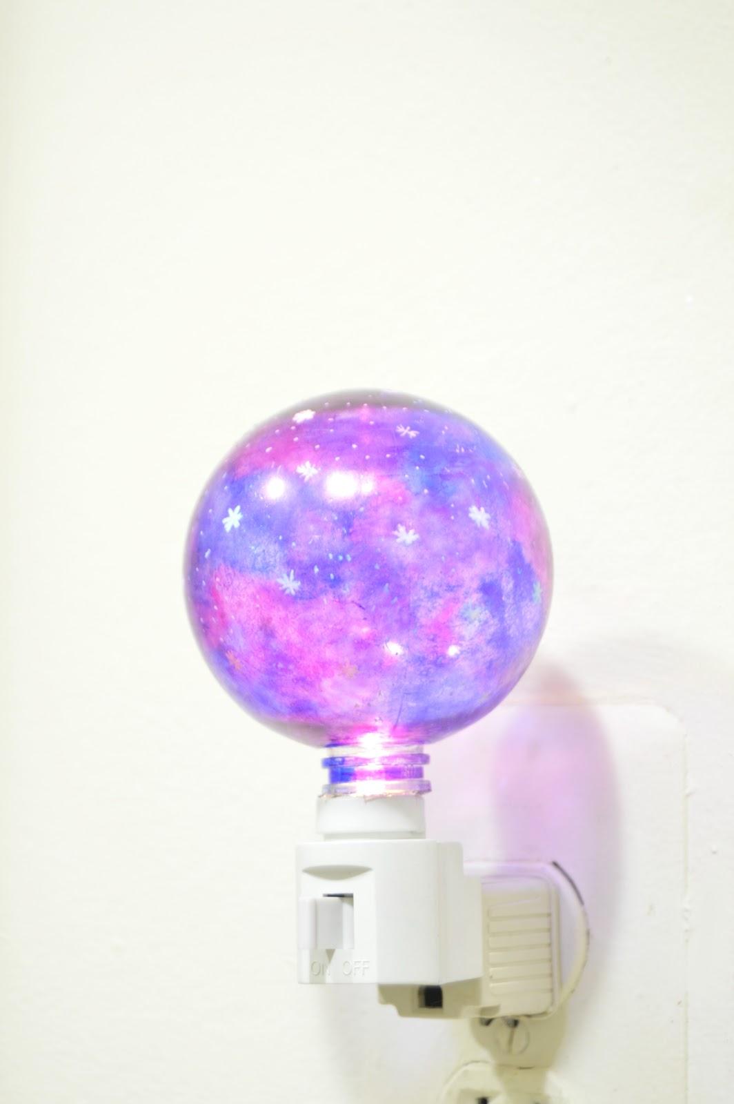 Vikalpah: DIY Galaxy night lamp
