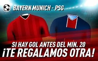 sportium promo champions Bayern vs PSG 7-4-2021