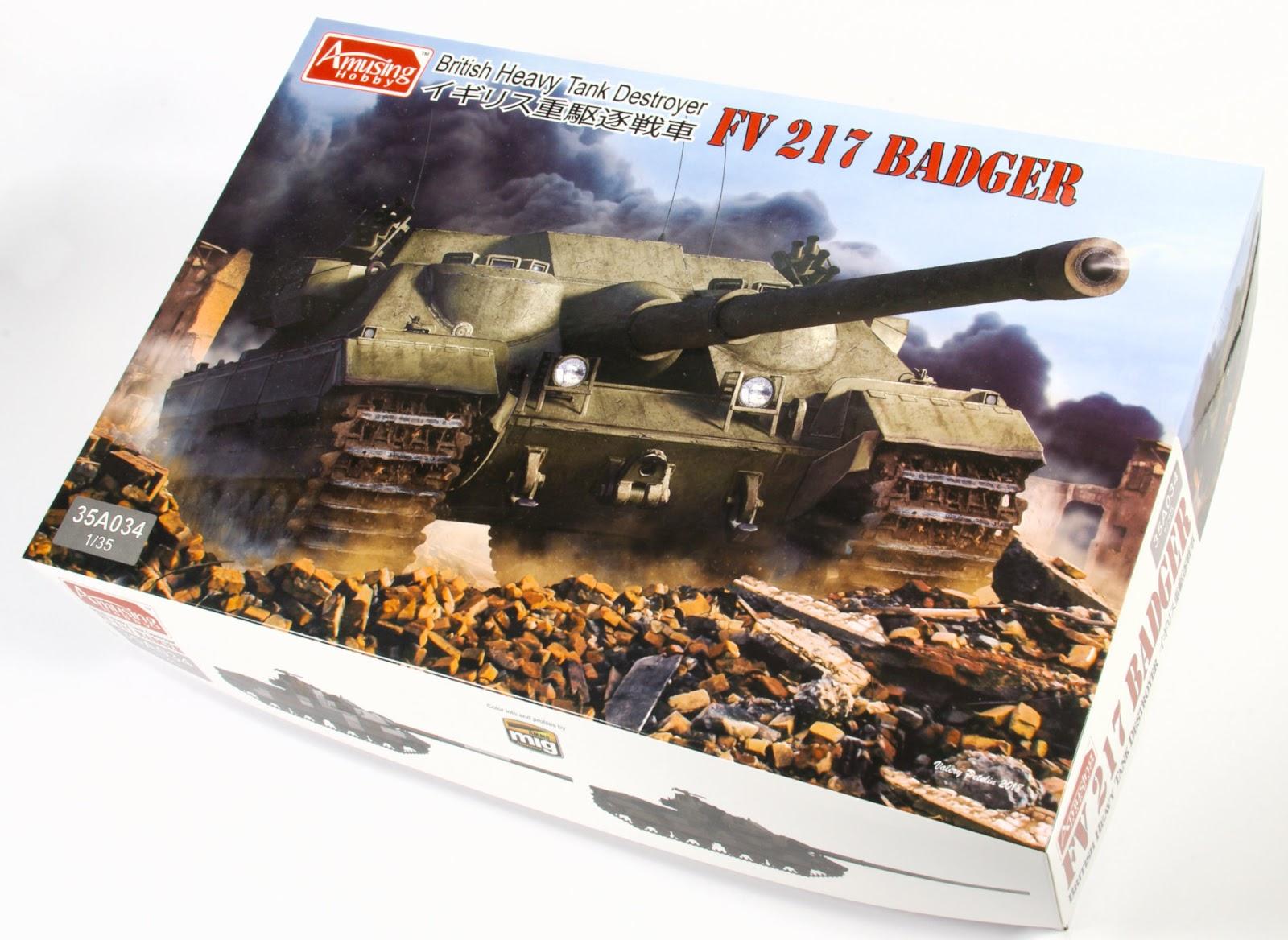 FV217 Badger Amusing Hobby 1:35