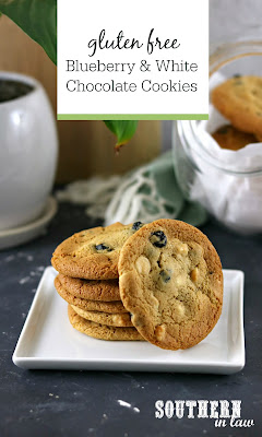 Blueberry White Chocolate Chip Cookies Recipe Gluten Free Vegan