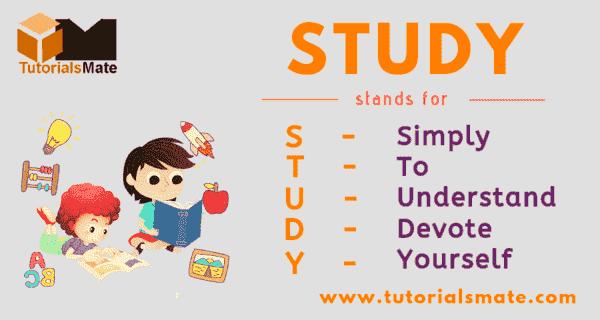 STUDY Full Form