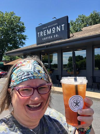 2021, Tremont Coffee Co, Mango Peach Iced Tea, Canton, OH