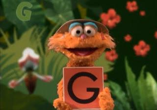 Sesame Street Alphabet Game