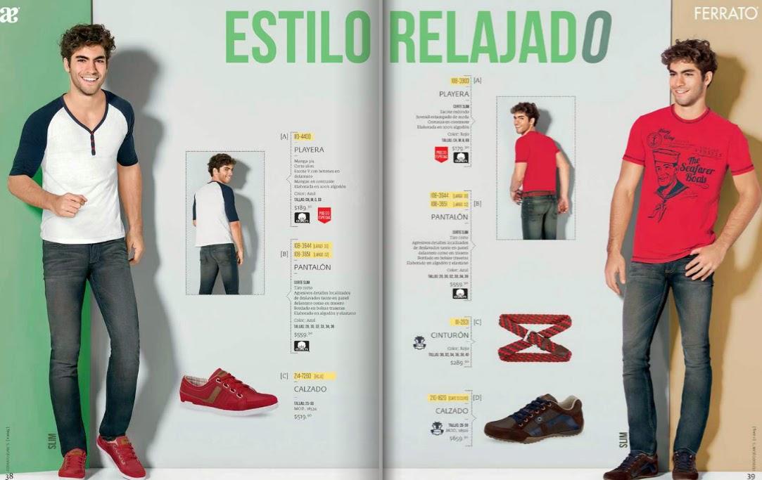 Catalogo de moda Andrea ferrato 2015