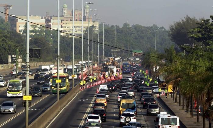 Novos desvios no Corredor Transbrasil