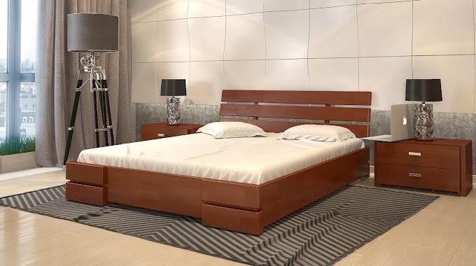 Кровать Дали Люкс 120х190/200 (сосна) ТМ АрборДрев