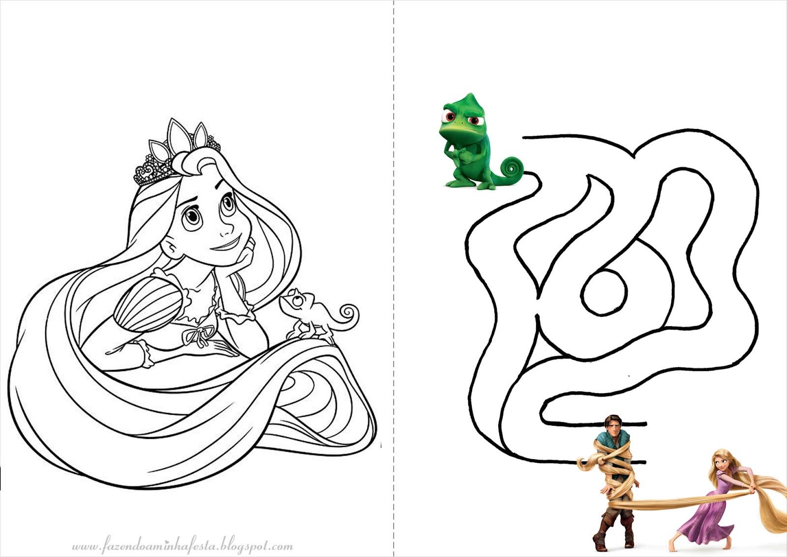 Disney Rapunzel Para Colorear Para Para Para Para Barbie: Barbie Rapunzel Para Colorir