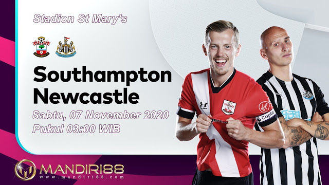 Prediksi Southampton Vs Newcastle United, Sabtu 07 November 2020 Pukul 03.00 WIB @ Mola TV