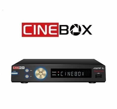 CINEBOX LEGEND X2 NOVA ATUALIZAÇÀO - 03/05/2021