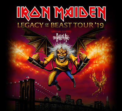 Centerfield Maz Concert Review Iron Maiden Legacy Of The Beast Tour Barclays Center Ny 7 26 19