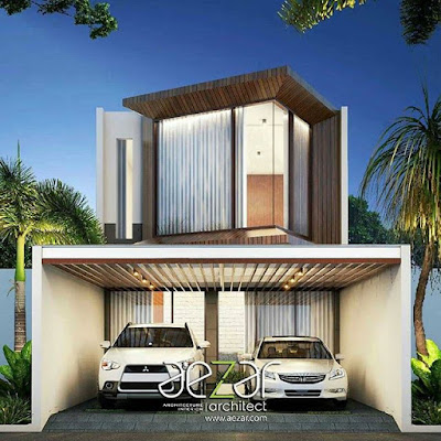 Model Rumah Cantik Minimalis elegan