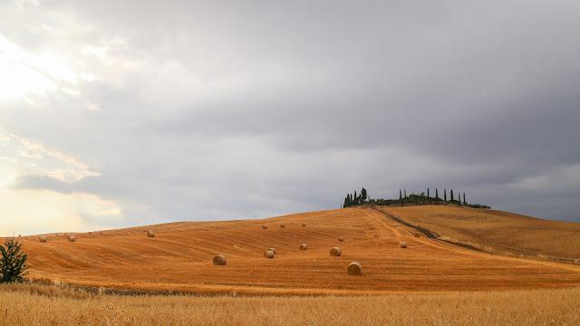 paesaggio toscana montepulciano pienza siena