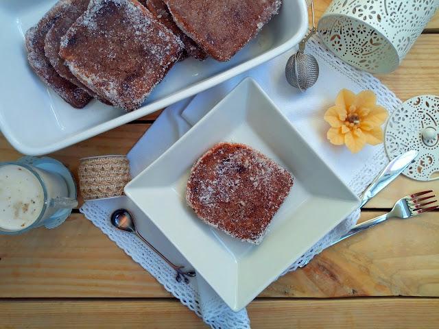Torrijas de chocolate al vapor y al horno (con Monsieur Cuisine) Receta de Semana Santa Tradicional, tradiciones, desayuno, merienda postre pascua Cuca