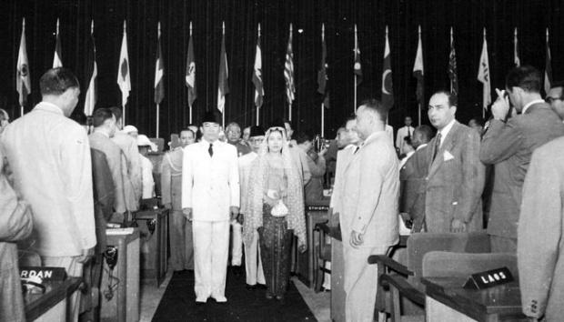 Pelaksanaan Konferensi Asia Afrika (KAA) Tahun 1955