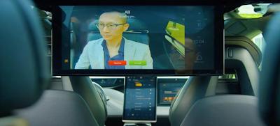 fitur video conference pada mobil faraday future
