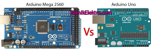 Perbedaan Arduino Uno dan Mega