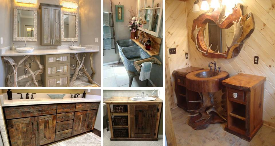 25 Decorating On A Budget Diy Rustic Bathroom Decor Ideas To Try At Home Decor Units