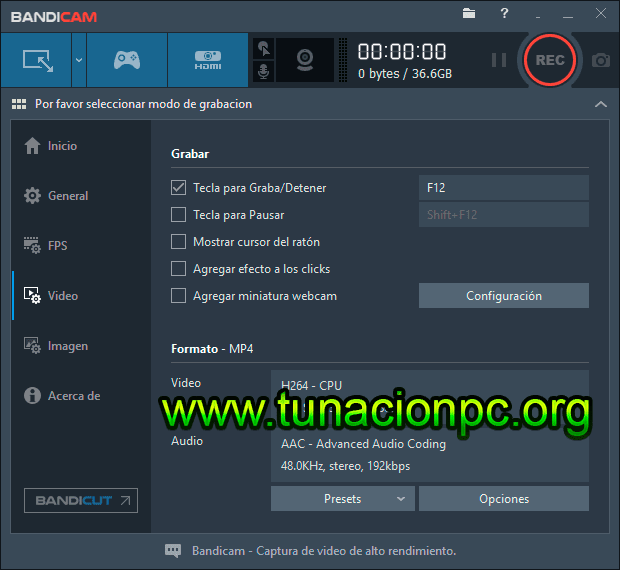 Descargar Bandicam Full