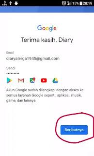 akun google baru gmail