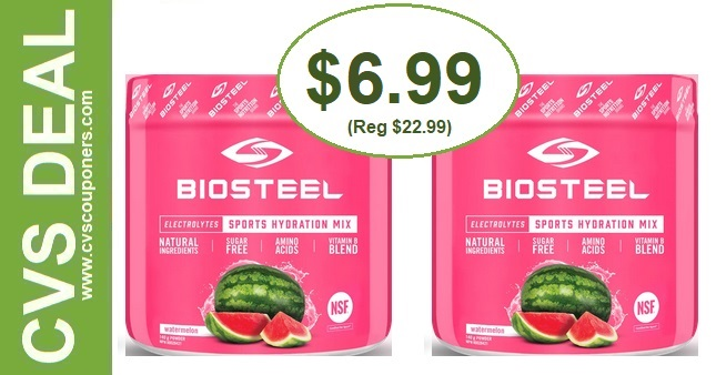 Save Big on BioSteel Hydration Mix CVS